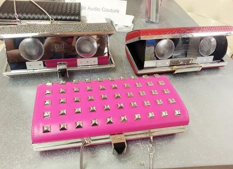 Fashion Meets Technology | The Rebecca Minkoff for Stellé Audio Clutch