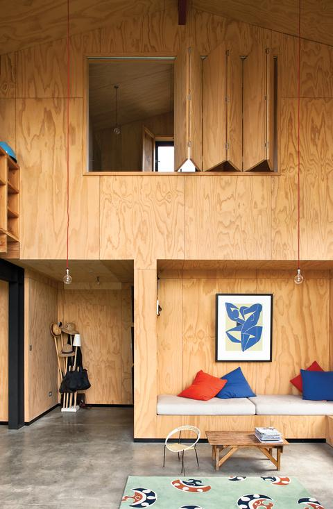 plywood living room new zealand