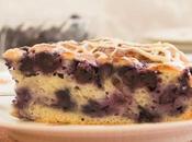 Healthy Blueberry Lemon Cake
