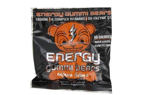 Caffeinated Energy Gummi Bears
