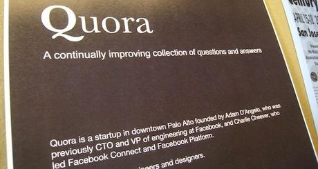 Show Your Expertise on Quora