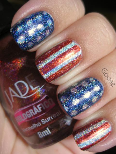 Stars and Stripes!  (Well... Dots and Stripes, anyway)