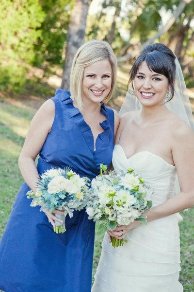 Bride and Her Maid/Matron of Honor