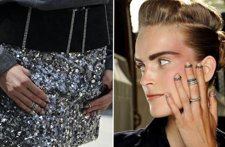Chanel 2013 Nail Ring
