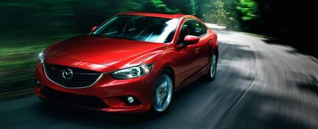 2014 Mazda6 midsize sedan. (Credit: Mazda Motor Corporation)