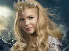 Glinda: shiny.