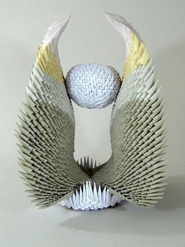 3-D modular origami sculpture