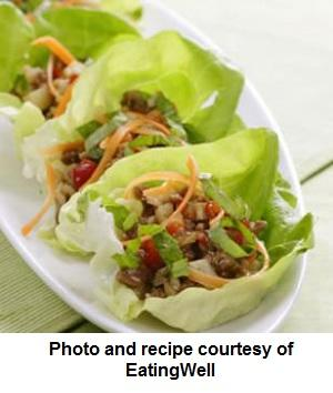Weight Loss Recipe: Chinese Turkey and Lettuce Wraps