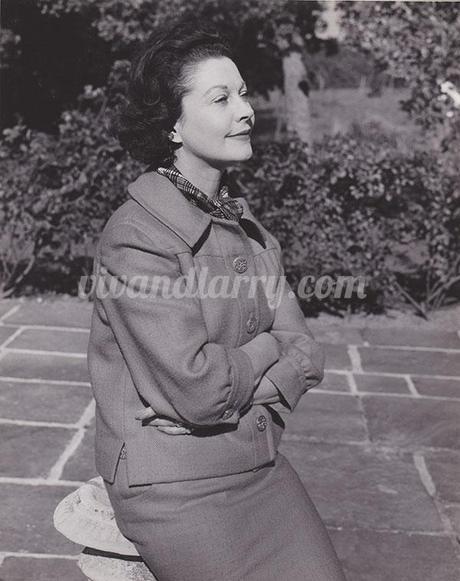 Vivien leigh at Tickerage Mill 1962
