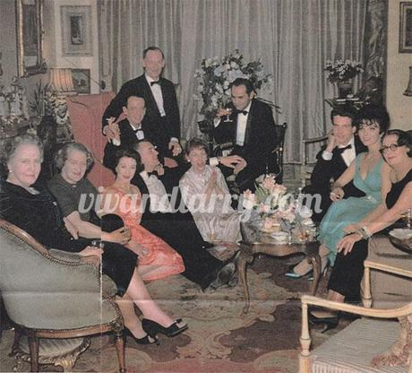 Vivien Leigh new Years party