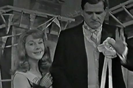 Vivien Leigh and George Devine in The Skin of Our Teeth 1959