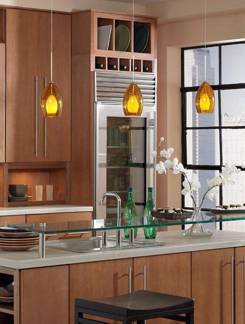 What Size Pendant Light Should Go Over A Kitchen Table