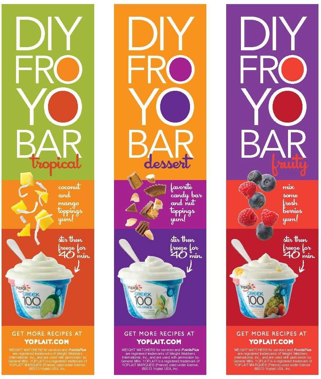 how to make froyo with greek yogurt