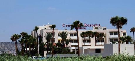 Crown Resorts Henipa Larnaca hotel facade