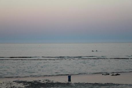 Pinikoudes beach strand Larnaca Larnaka