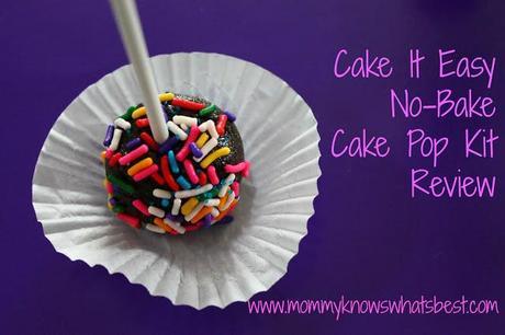 Cake It Easy No-Bake Cake Pops Kit Review