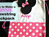 Minnie Mouse Drawstring Backpack