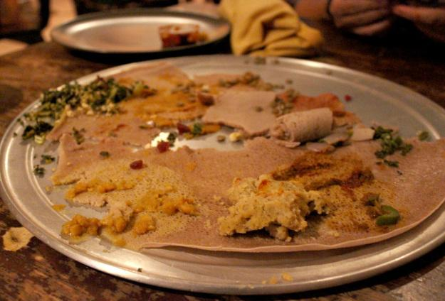 Adieu abay you will be missed paperblog for Abay ethiopian cuisine