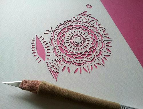 Gemma Esprey Designs - Paper Cutting - Paperblog