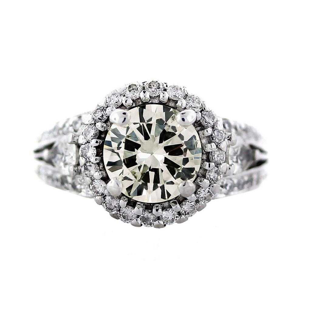 Engagement Ring Eye Candy Round Diamond Rings