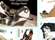 Shopped D&A, Great India Place Color Block Wedge Heels