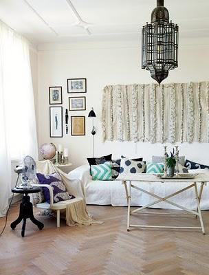 inspiration board | modern interiors + traditional moroccan decor