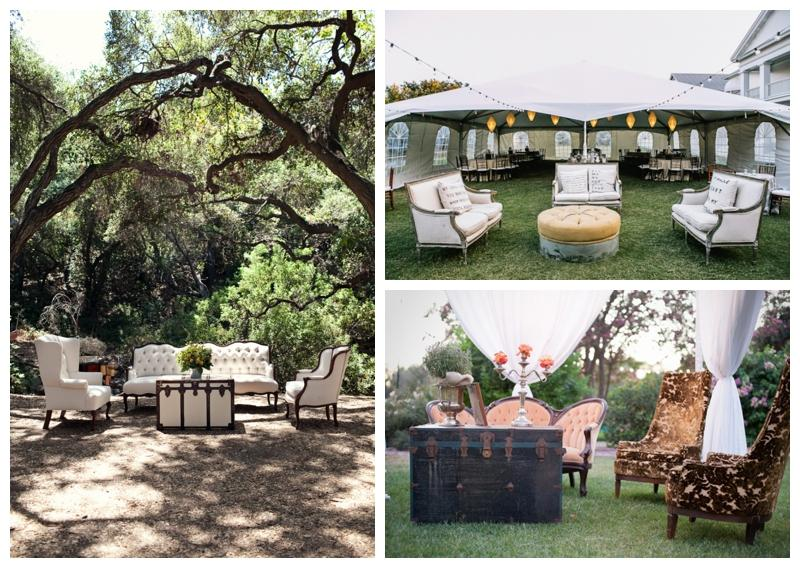 Creative Seating For Outdoor Weddings