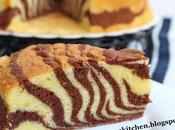 Zebra Butter Cake/ 斑马蛋糕 (Egg Separation Method)