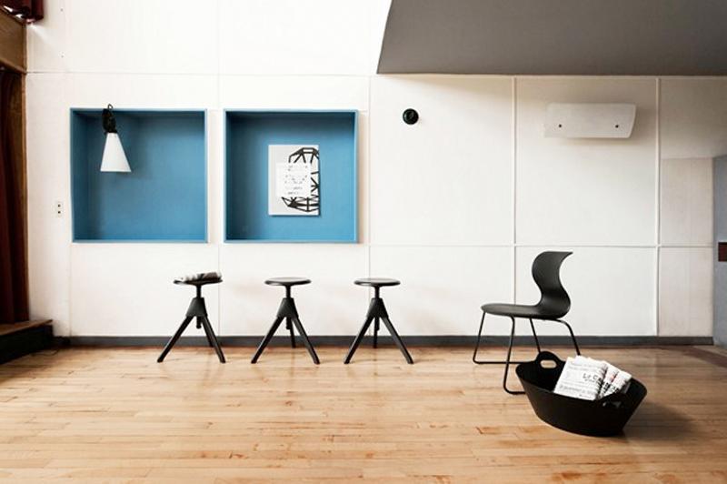 Punk Rock Interiors Le Corbusier Meets Konstantin Grcic