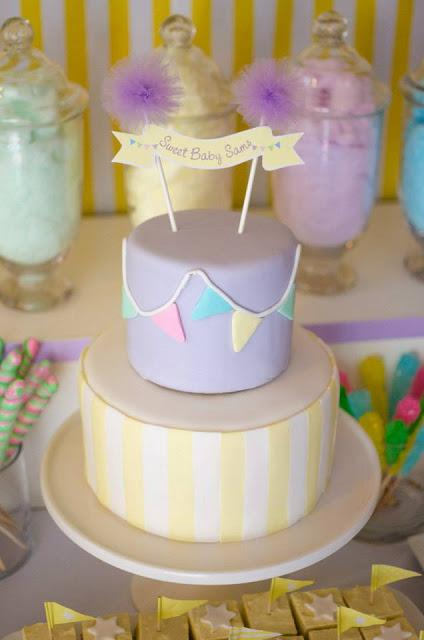 fairy floss pastel baby shower by sugar coated mama paperblog