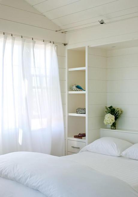 contemporary bedroom Coastal Design: Perfect Summer Style HomeSpirations
