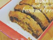 Sweet-tooth Brunch: Dark Chocolate Banana Bread