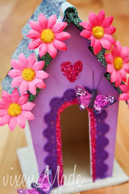 Kids Craft:  Fairy House