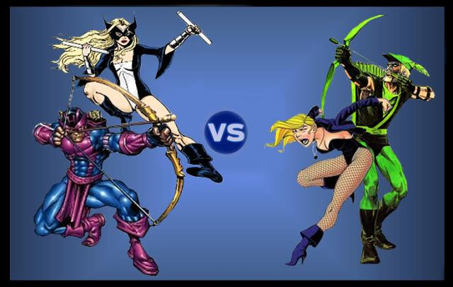 13 Hawkeye Mockingbird Vs Green Arrow Black Canary