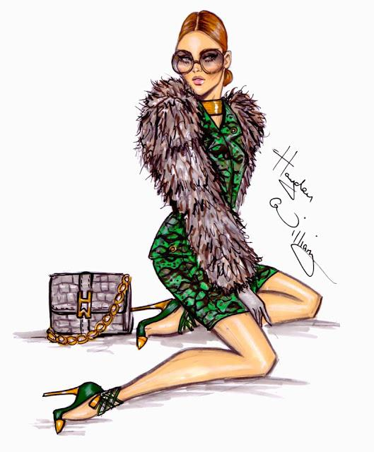 fashion illustrator hayden williams   paperblog