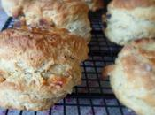 Yogurt, White Chocolate Sour Cherry Scones