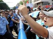 Protest China Against Uranium Plant Draws Hundreds