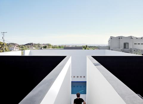 Geometric Pool With A View In Phoenix Paperblog