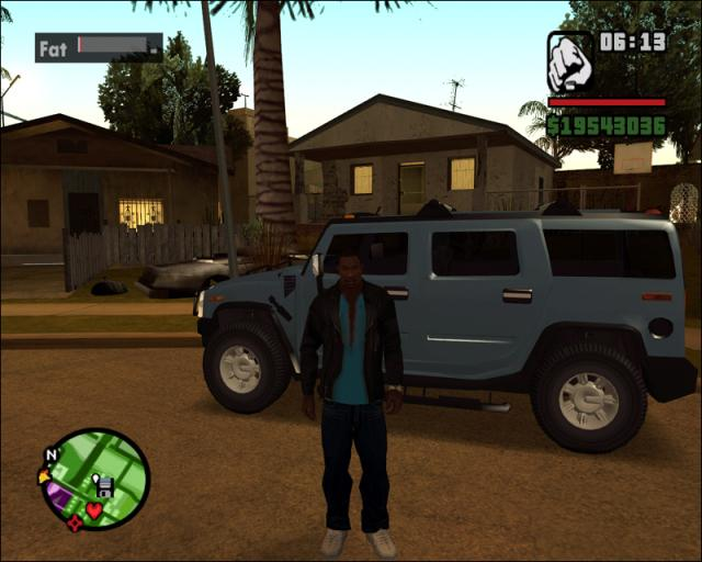 GTA: San Andreas . Improved on Vice City in most every way (though I