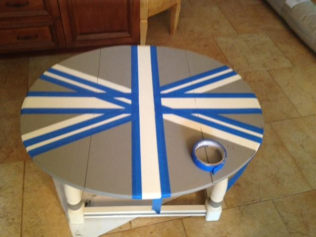 The Union Jack Coffee Table Part 2 Paperblog