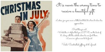 Wrapped up in Deals: Christmas In July!!