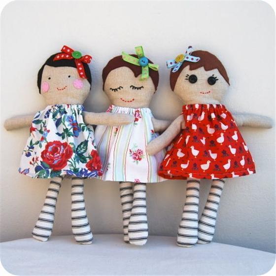 Ляльки своими руками
