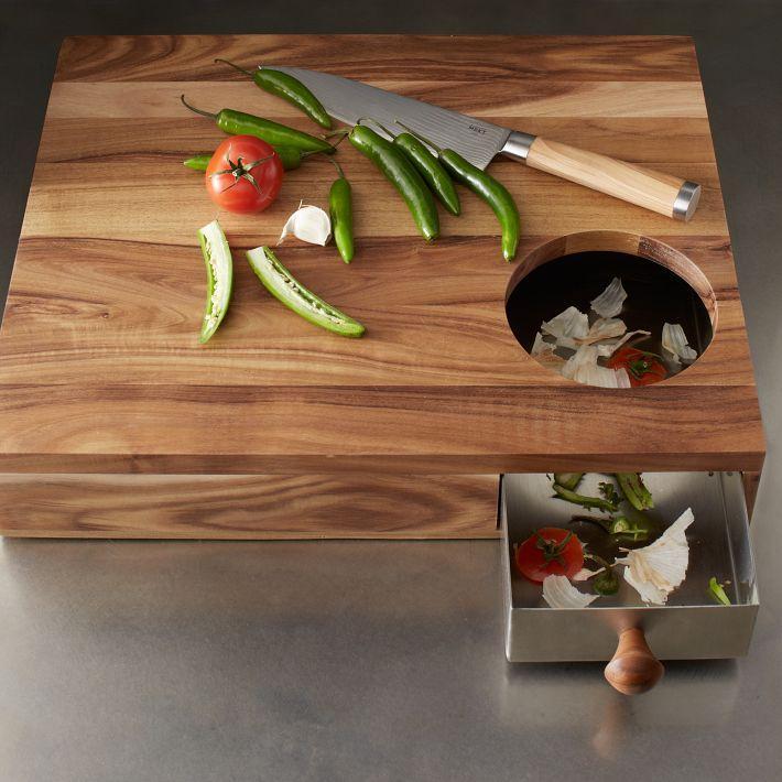 Unique Storage Cutting Board