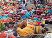 Anti-nuclear Power Protesters 'Drop Dead' 700th Kudankulam Stir