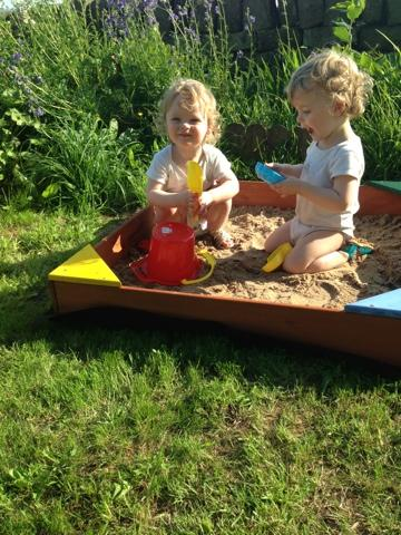 Competition! Win A Sandpit