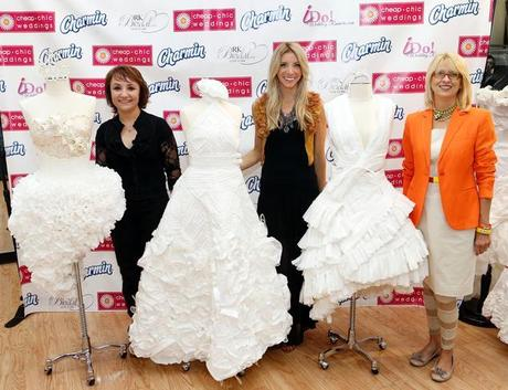 article dress4 0625Toilet Paper Wedding Contest: 3 Stunning Paper Creations