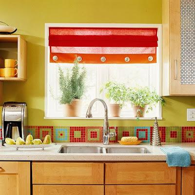Bright kitchen backsplash ideas paperblog Bright kitchen