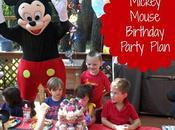 HOTDOG! Mega Mickey Mouse Birthday Party Plan