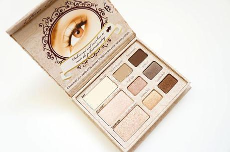 Too Faced Natural Eye Palette Swatches and Review
