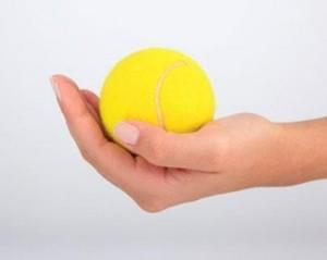 Tennis Ball Service Serve Ritual